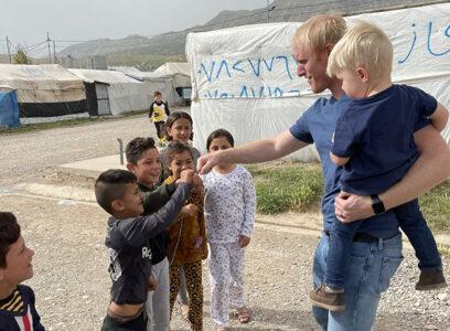 Refugee kids small